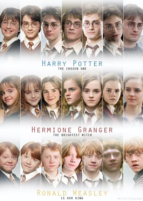 Time Flies -  Harry Potter Epic Trio