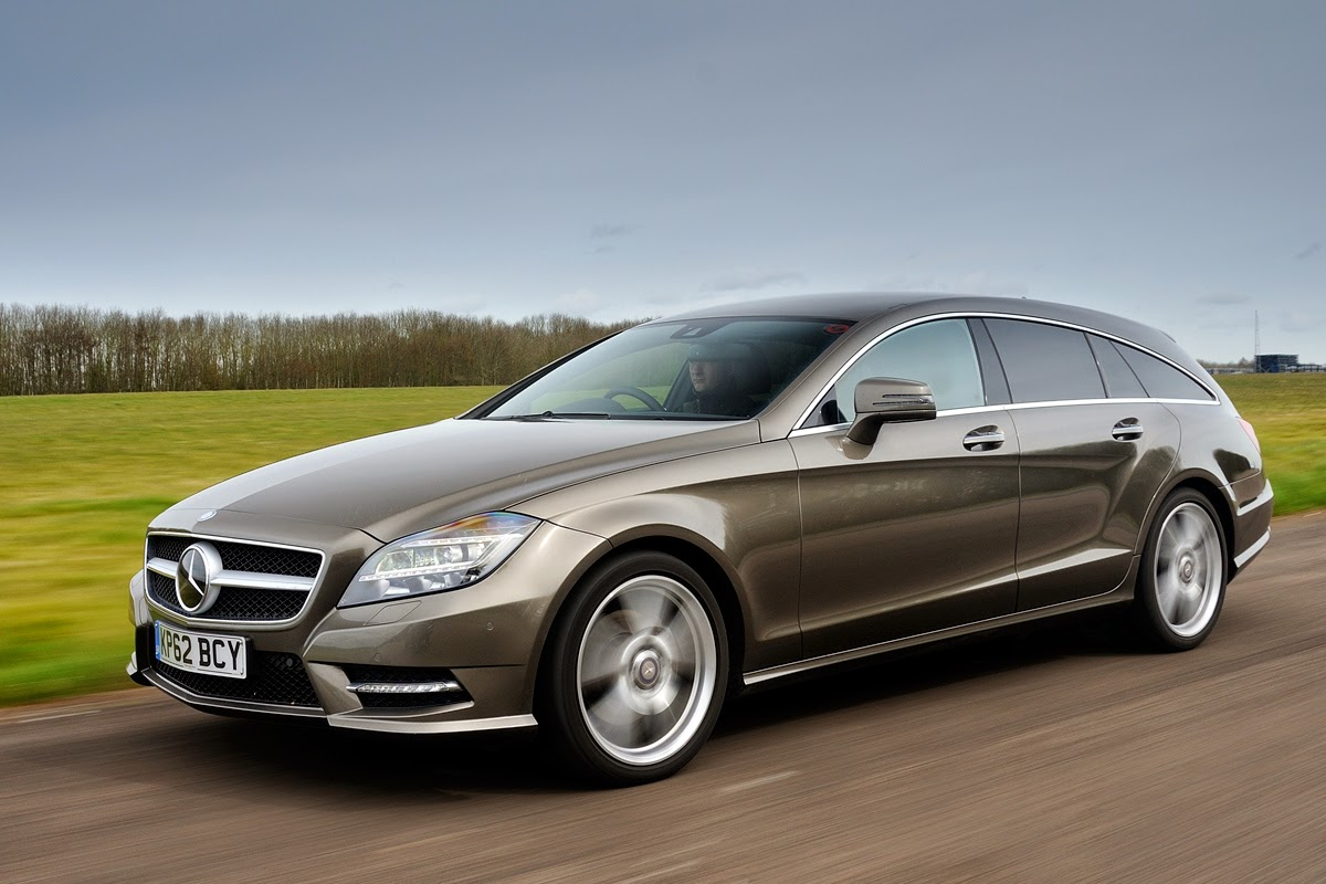 Mercedes CLS Shooting Brake estate