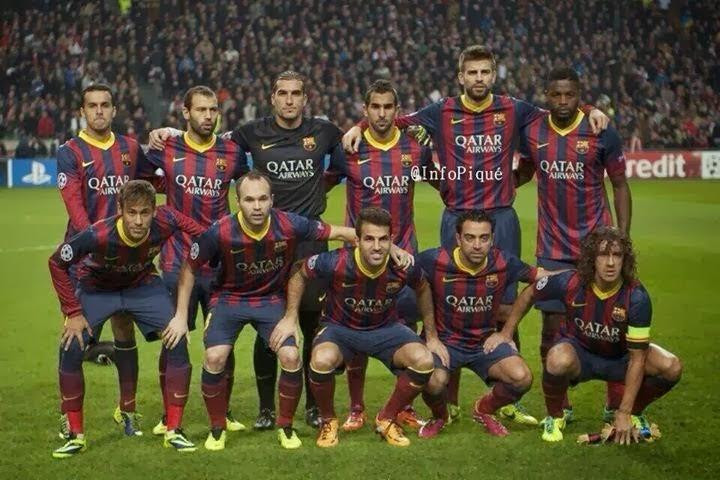 Gambar Klub Barcelona Terbaru 2014