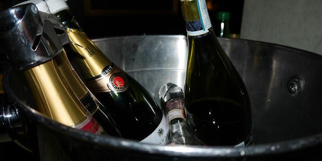 Urban Bar and Brasserie Glasgow champagne