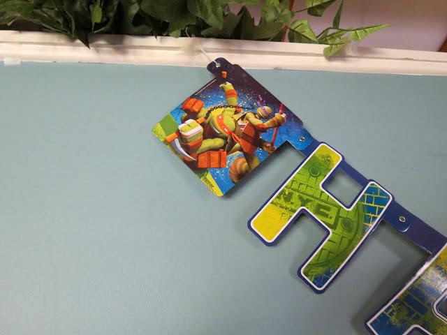 Ninja Turtle Banner