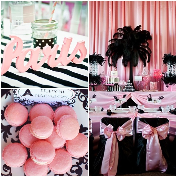 parisian party a night in paris sweet fifteen theme quince candles. Black Bedroom Furniture Sets. Home Design Ideas
