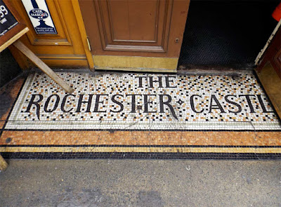 rochester castle pub mosaic stoke newington london