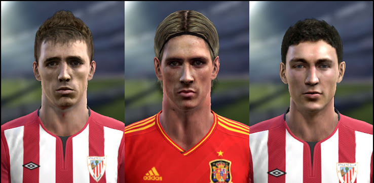 PES 2012 Spain Facepack by El Nino 9
