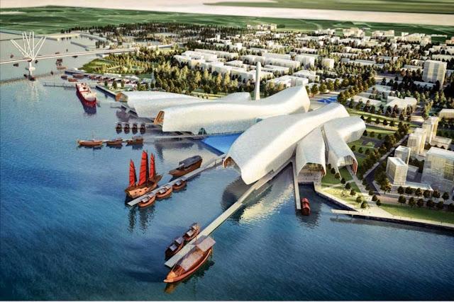 03-Nacional Marítimo-Museum-China-por-Cox-Architecture