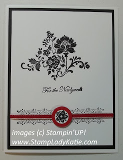 Card made with Stampin'UP!'s Fresh Vintage Sale-a-bration Stamp Set