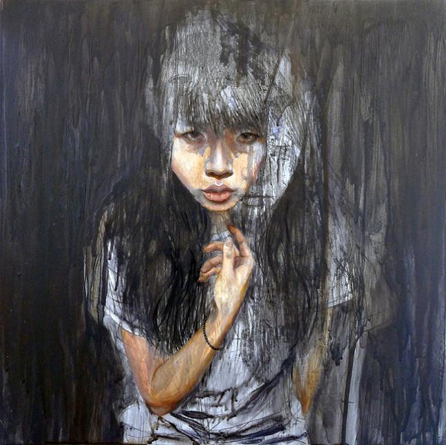 Doctor Ojiplático. Christine Wu. Pintura | Painting