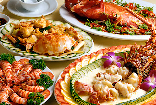 Seafoods pictures menu in roxas city