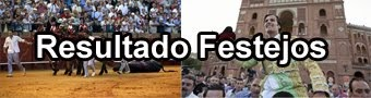 RESULTADO FESTEJOS