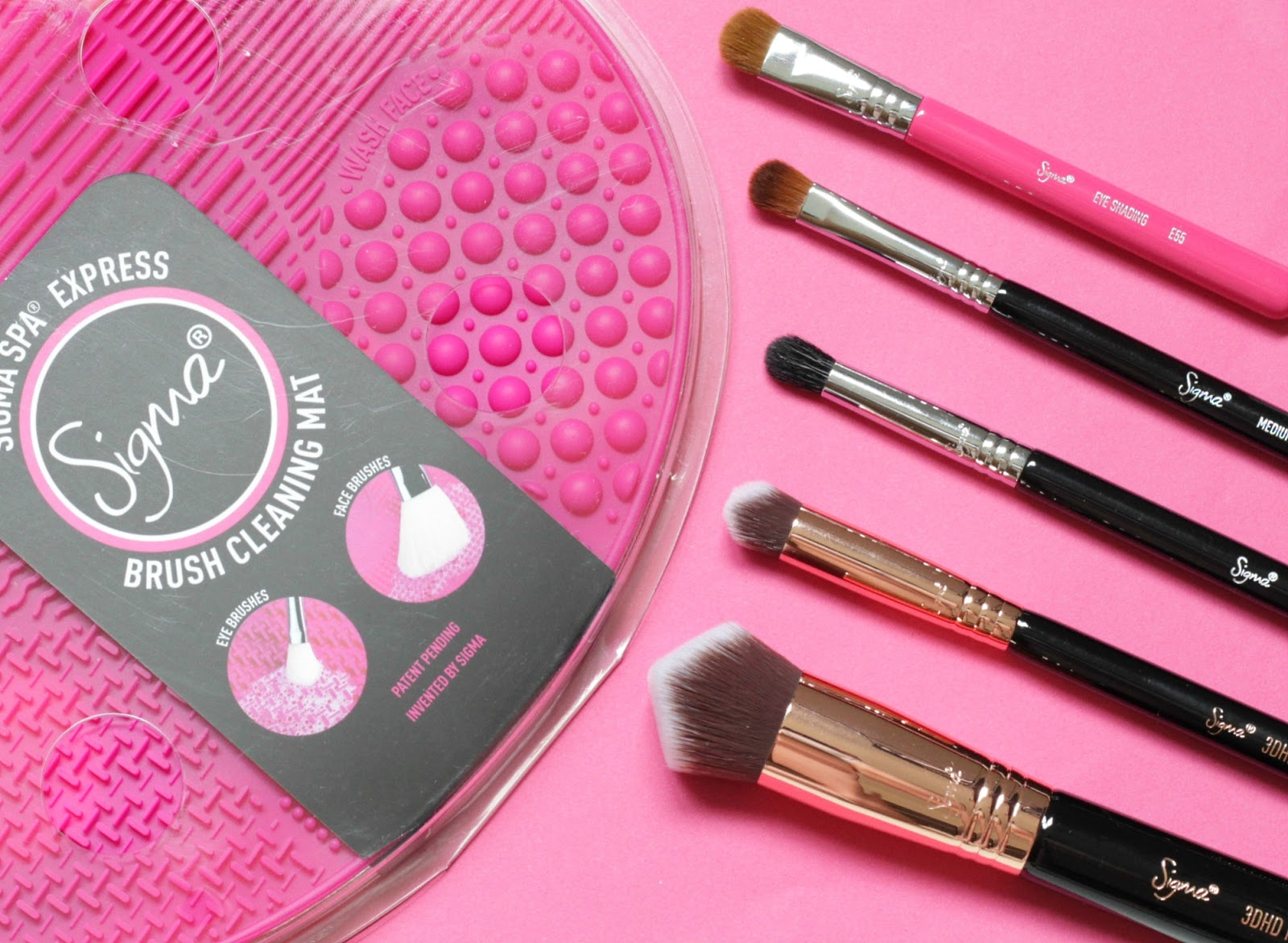 Sigma Beauty Brushes Amp Spa Express Brush Cleaning Mat