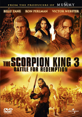 Watch The Scorpion King 3: Battle for Redemption 2012 BRRip Hollywood Movie Online | The Scorpion King 3: Battle for Redemption 2012 Hollywood Movie Poster