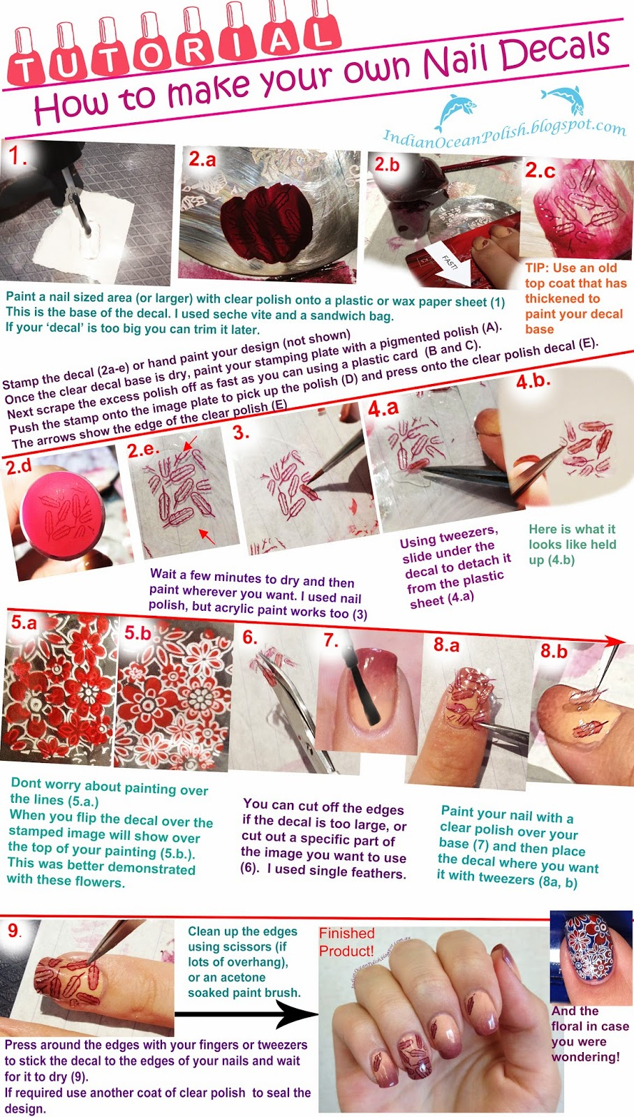 How to make your own nail art pen image collections nail art and own nail art gallery nail art and nail design ideas making nail art decals wrapartist nail prinsesfo Choice Image