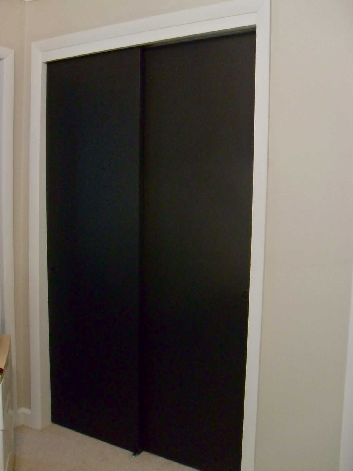 Chalkboard Doors - The Finale & The Remodeled Life: Chalkboard Doors - The Finale
