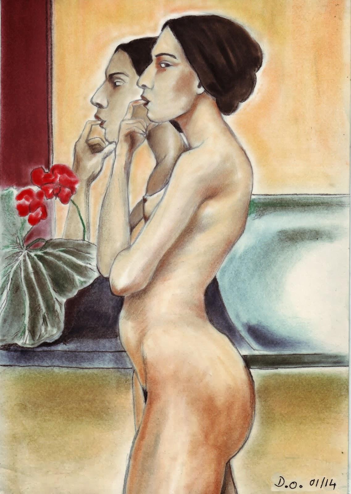 La fille au miroir 2014