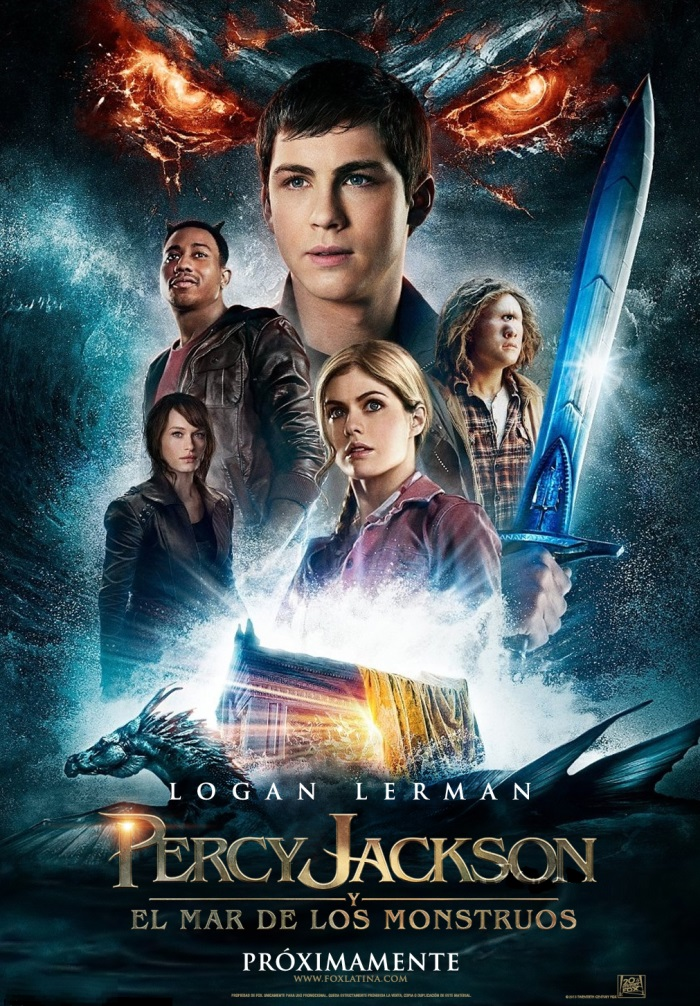 Percy Jackson 2 Poster