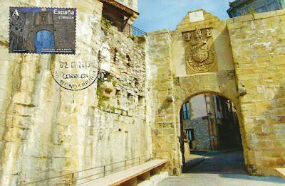 Puerta de Santa María en Fuenterrabia, Hondarribia