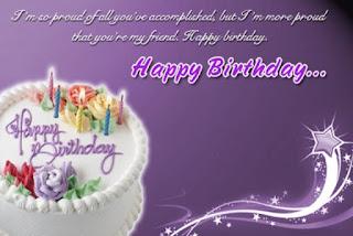 Ucapan selamat ulang tahun gratis untuk sahabat dalam bahasa inggris