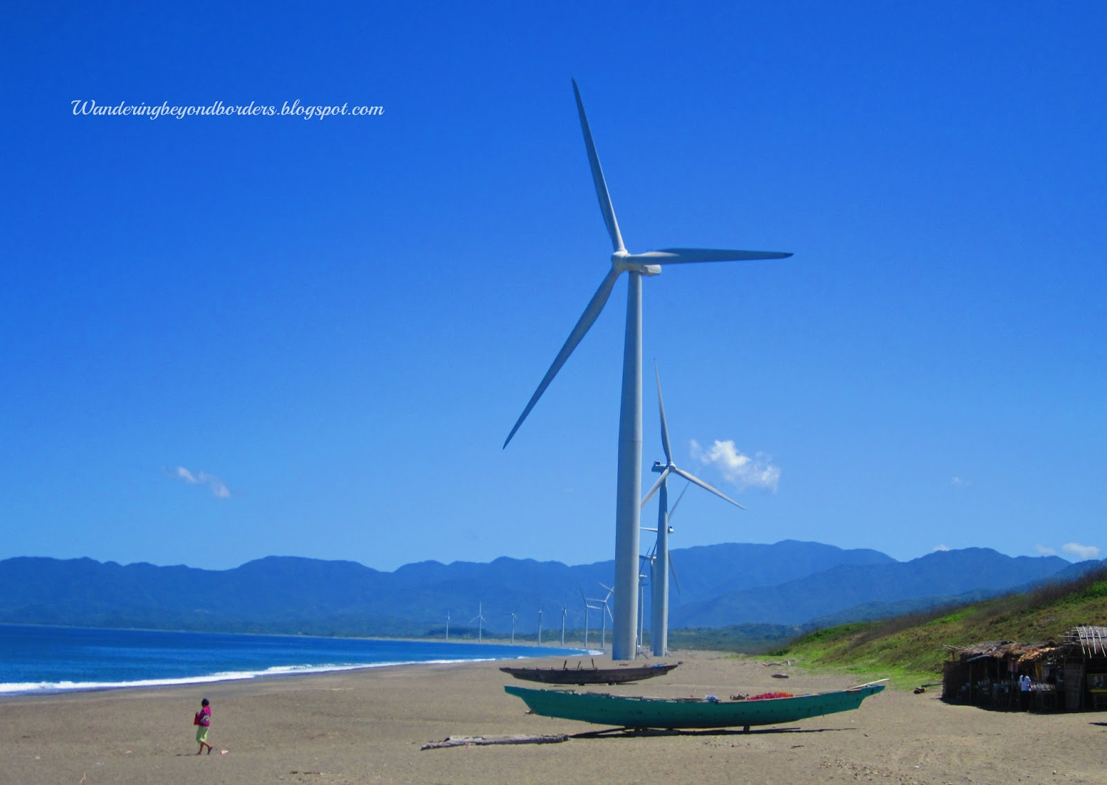 Wandering Beyond Borders: Ilocos Norte : The Towering Bangui Windmills