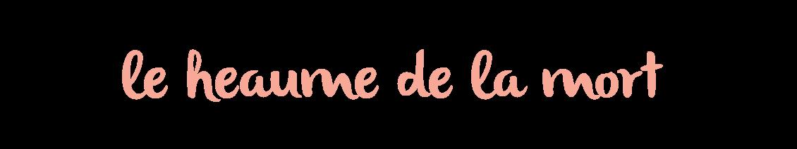 Blog Rennes - le heaume de la mort - DIY création