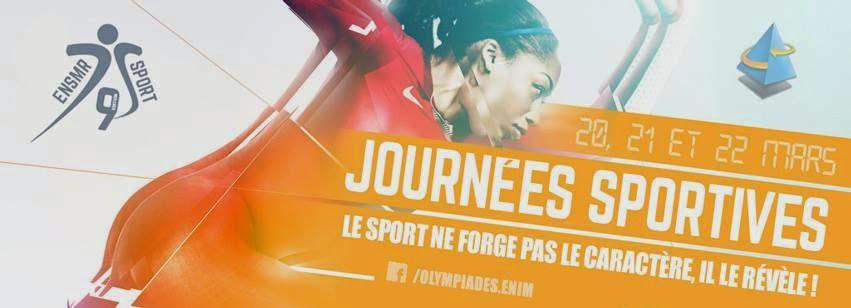 Journées Sportives ENSMR (ex.ENIM) 2015
