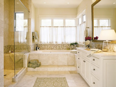 Window Curtain Concepts For Bathrooms