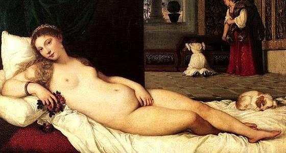 Venere di Urbino, Tiziano, Uffizi, Florence