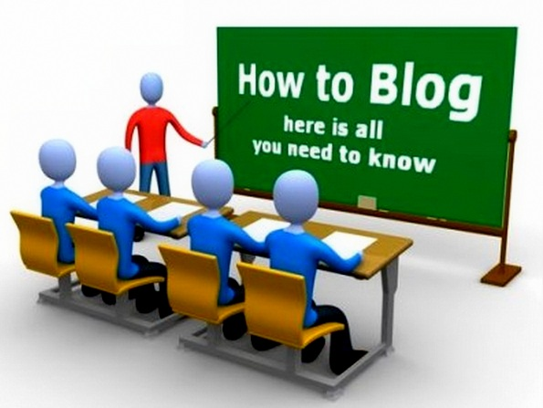 Blog Blogger Blogging
