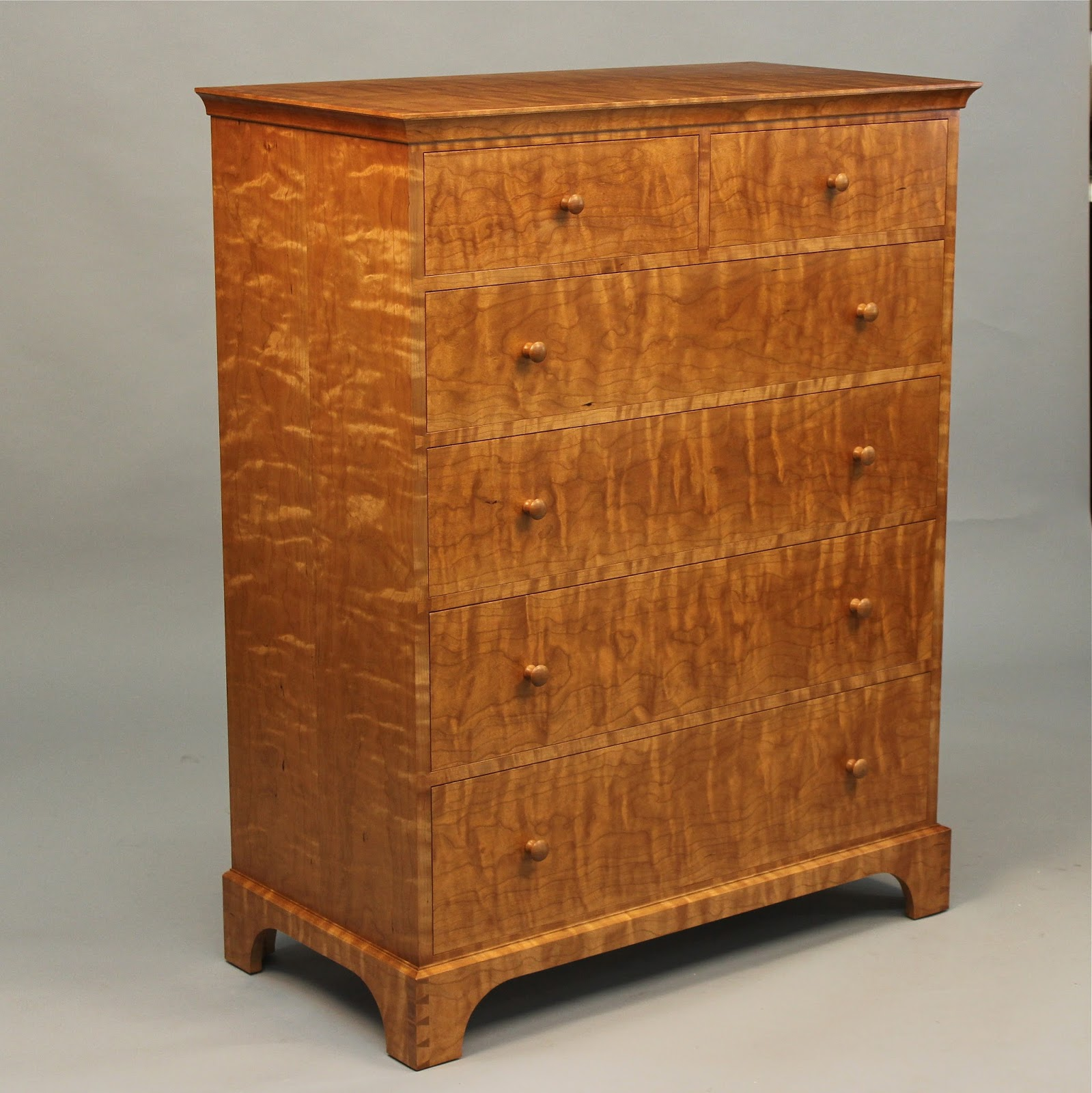 Custom Cherry Chest of Drawers