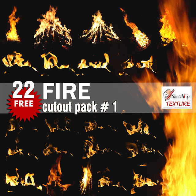 免费的FIRE Cutout Pack#1