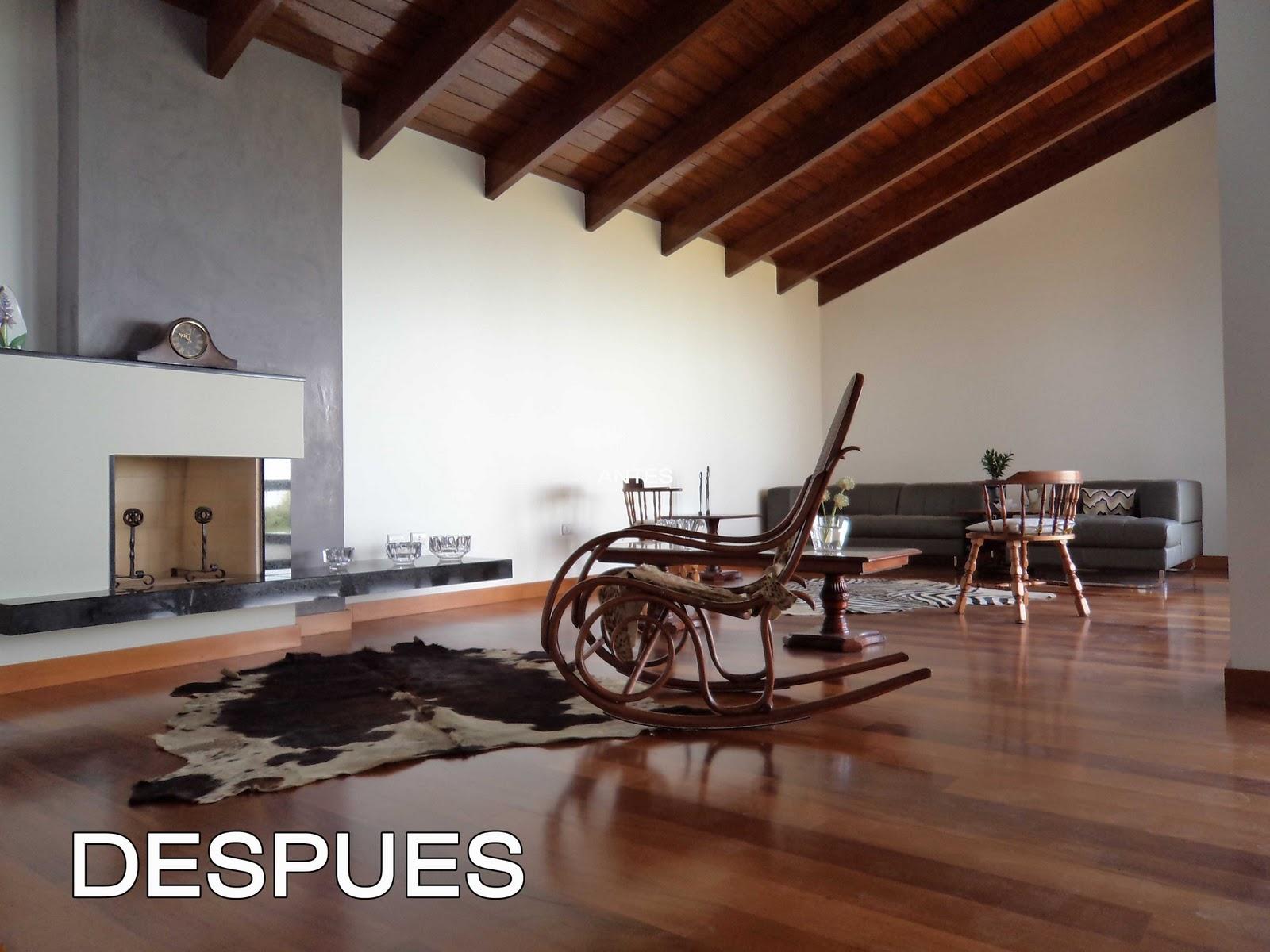 Oniria antes y despu s remodelacion de sala for Remodelacion de casas pequenas fotos