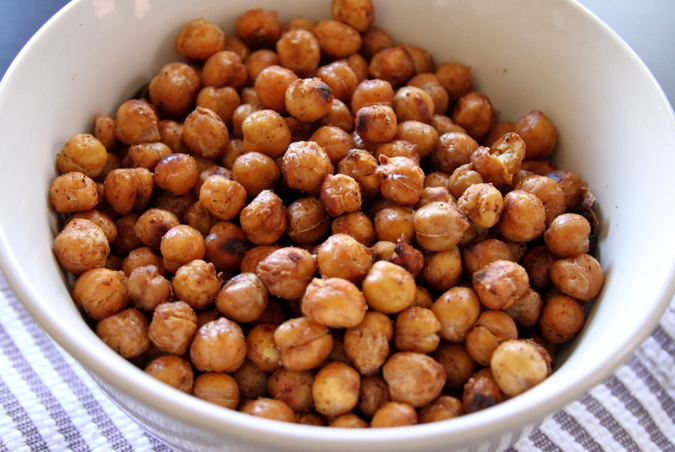 Brewed Together: Spicy Roasted Chickpeas by Kaleb