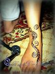 Ankle Henna