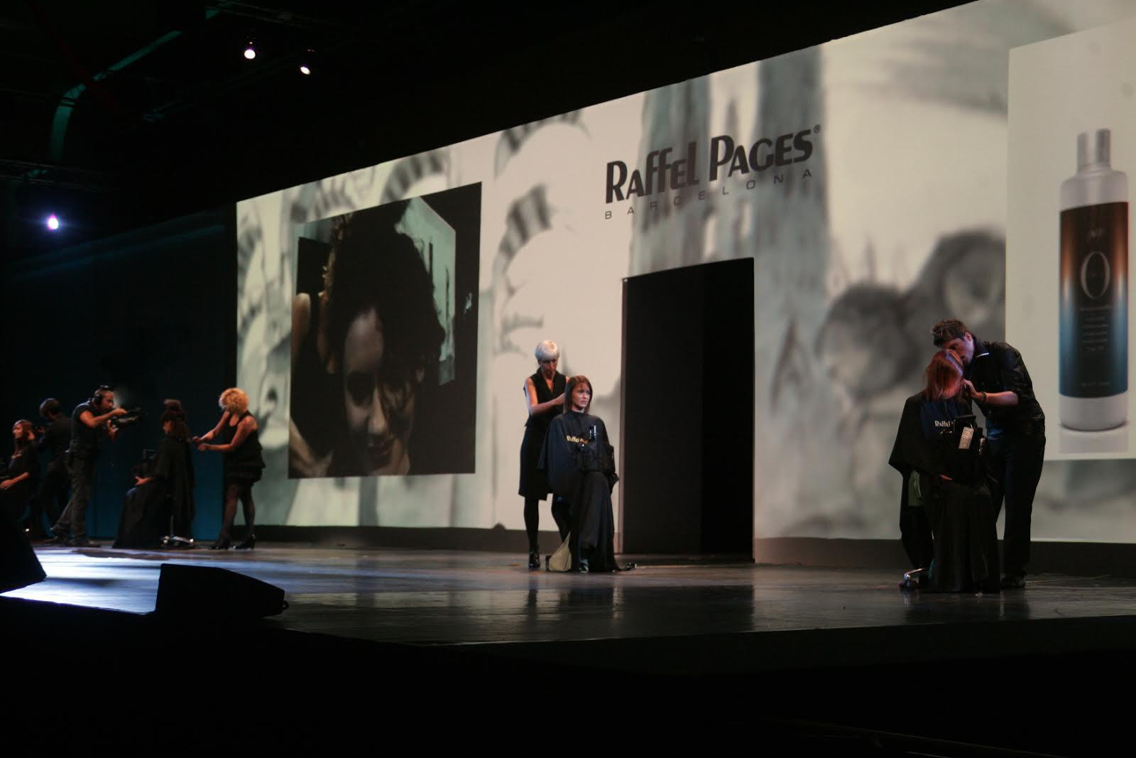 Exhibición de peluqueria Raffel Pages