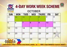 4-day work week-scheme schedule