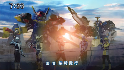 Tokumei SEntai Go-Busters 2nd Opening