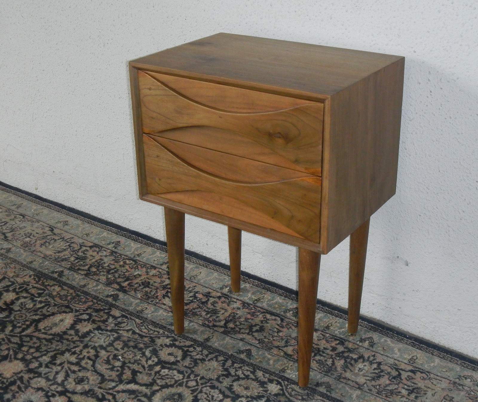 MID CENTURY MODERN BEDSIDE CABINETS   VINTAGE AND FINE REPRODUCTIONS.