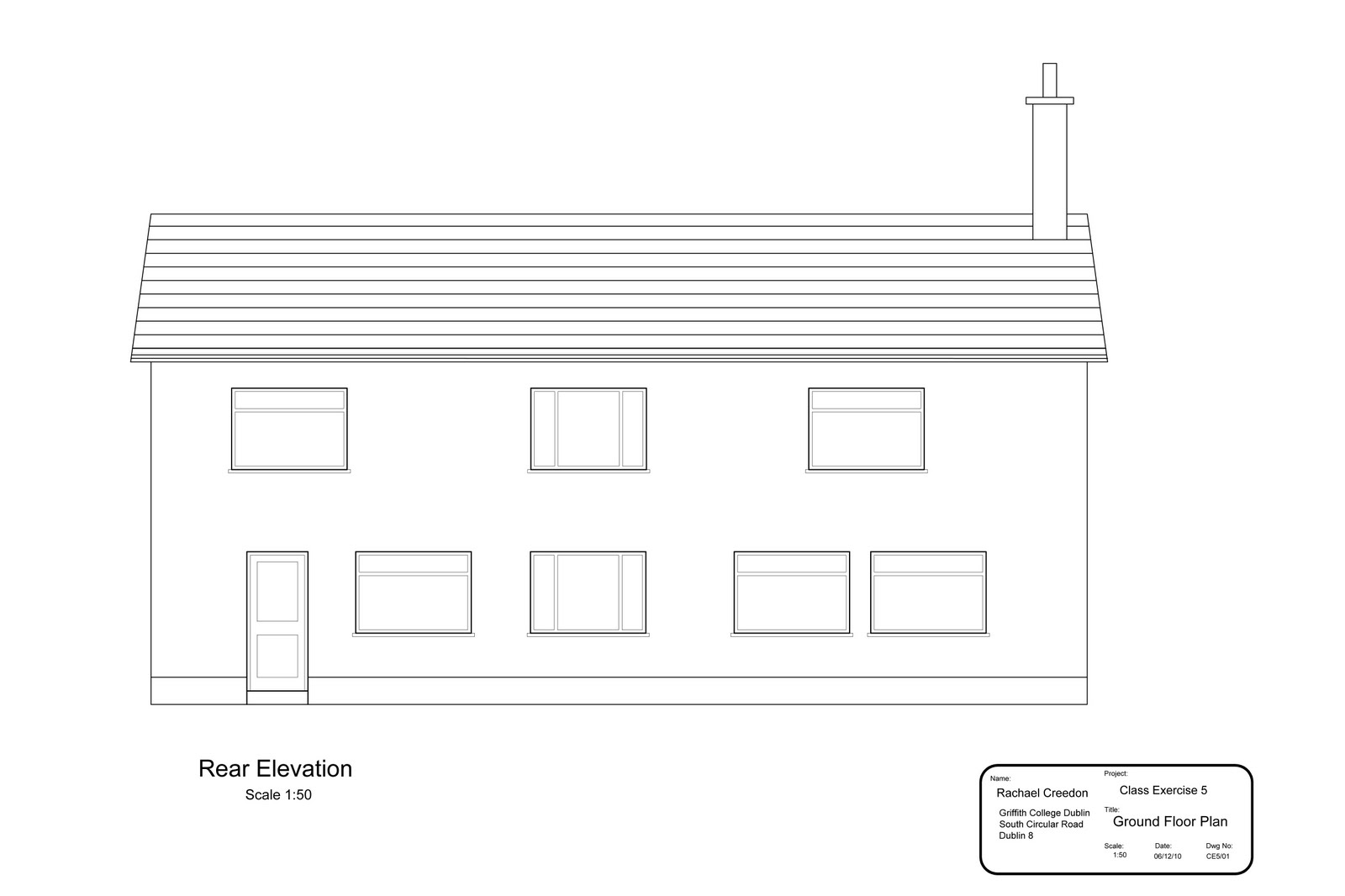 Front Elevation Of Wc : Front elevation cad design joy studio gallery