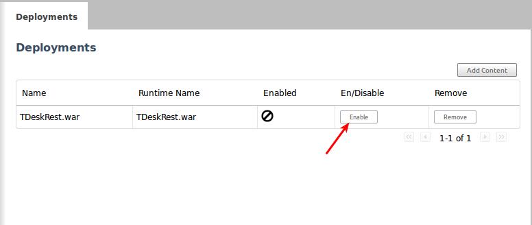 enable your web app in jboss7