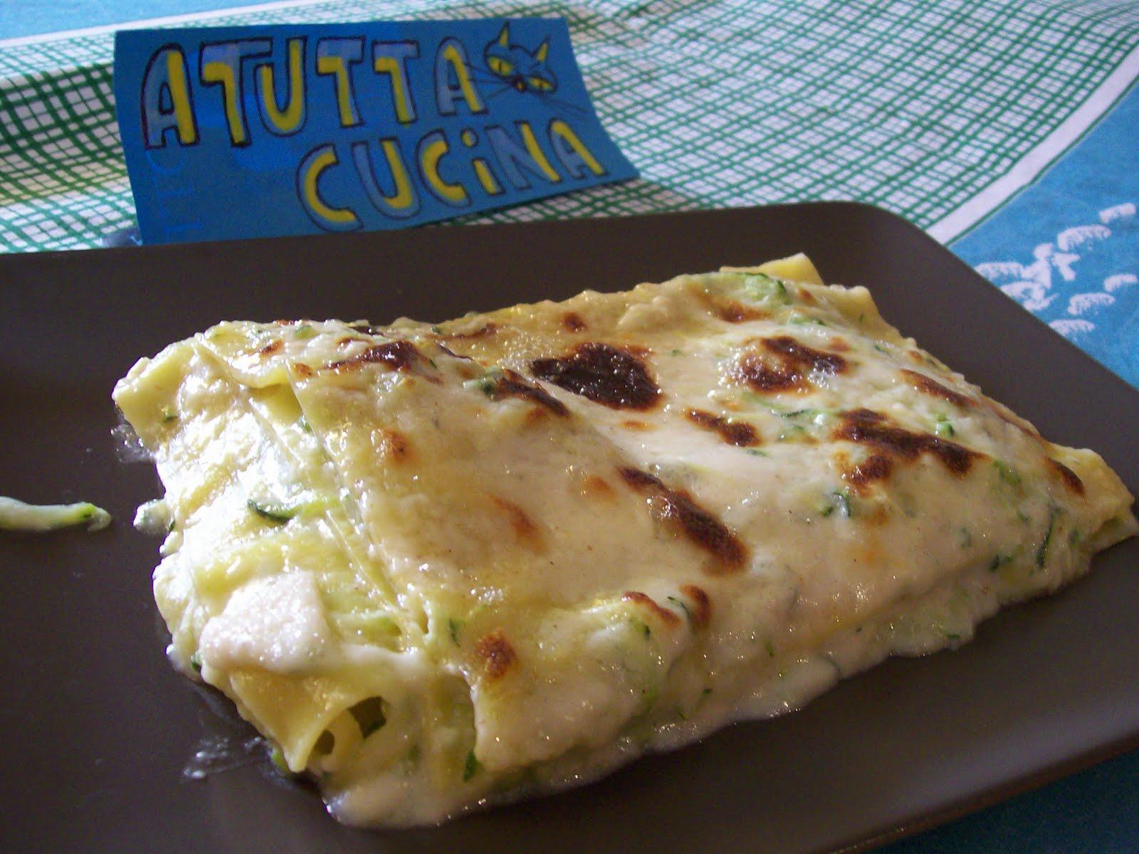 a tutta cucina: lasagne alle zucchine e gorgonzola - Come Cucinare Le Lasagne