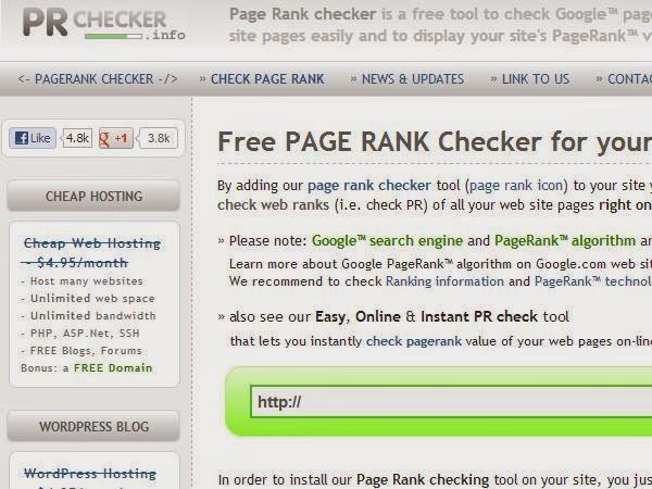 Google POrchecker.info