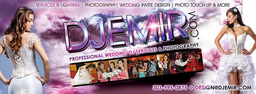 DJ Emir Denver's Professional Wedding DJ and Photographer
