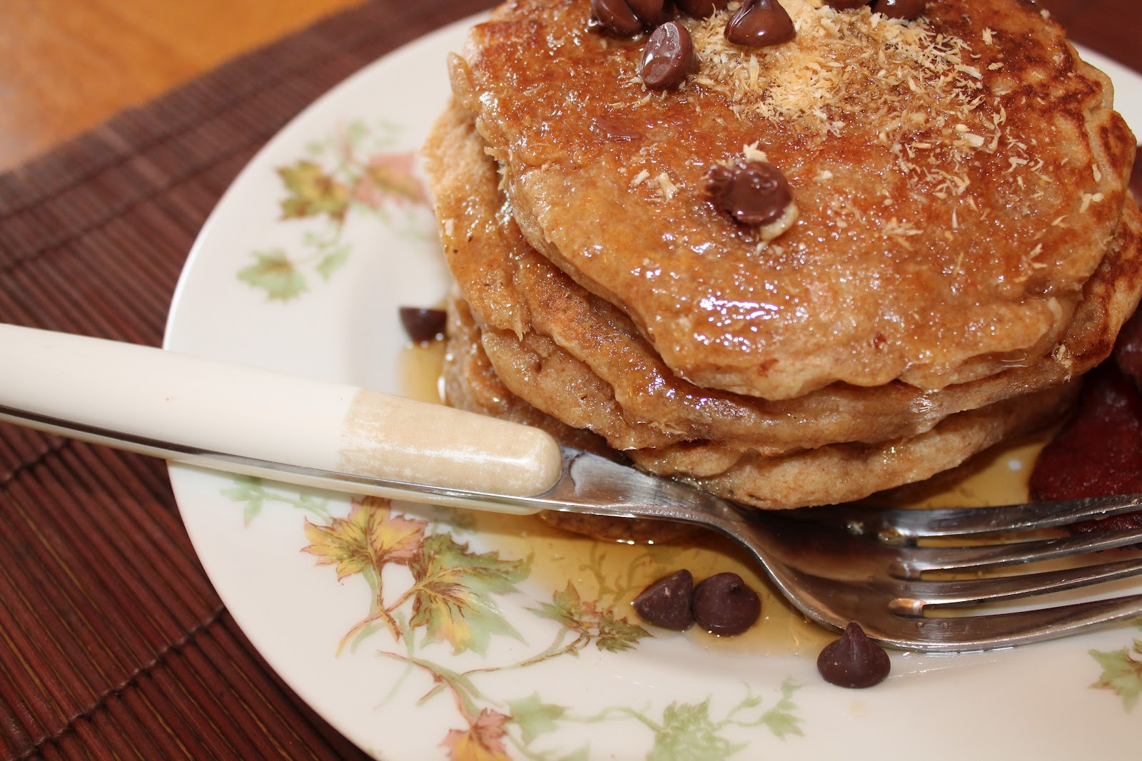 Savory Moments: Coconut pancakes