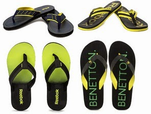 EXTRA 25% OFF on Men's Slippers & Flipflops @ Flipkart (No minimum purchase)