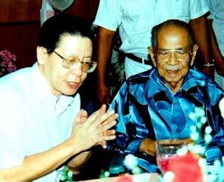 Lim Kit Siang dan tunku abdul rahman