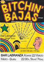 BITCHIN' BAJAS en Bar Labranza