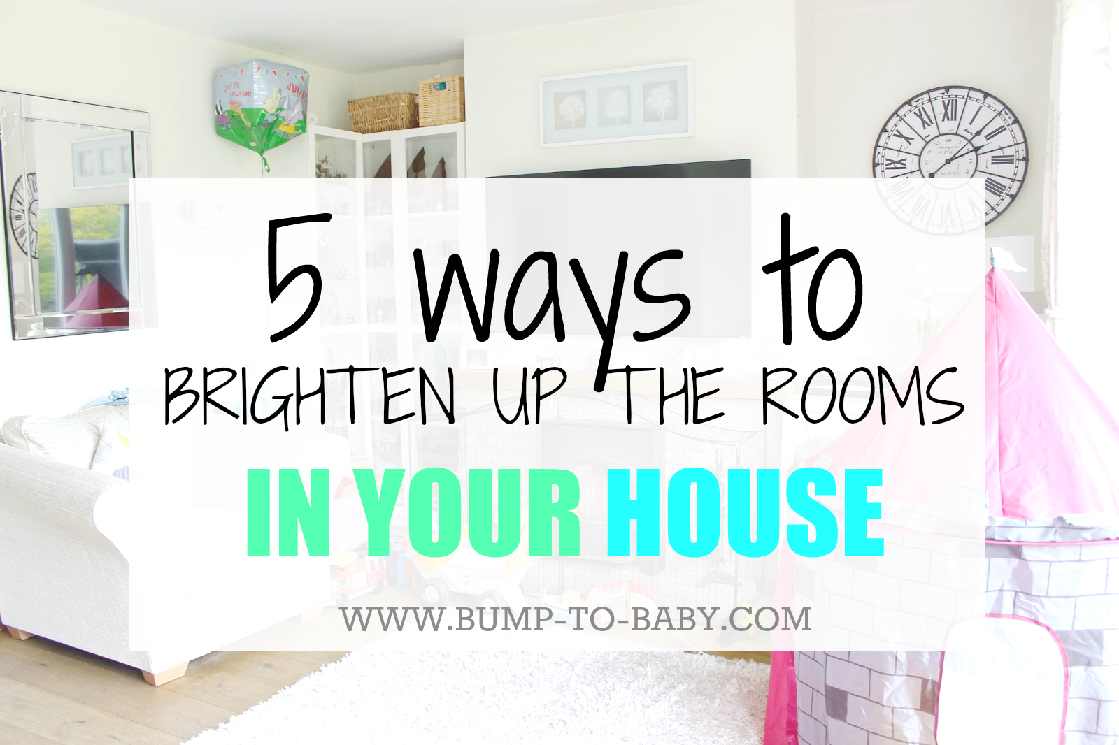 brighten rooms in house up