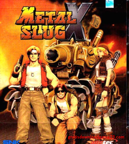 download game metal slug x