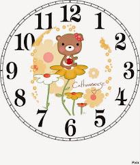 horloge dessin offert par Magali