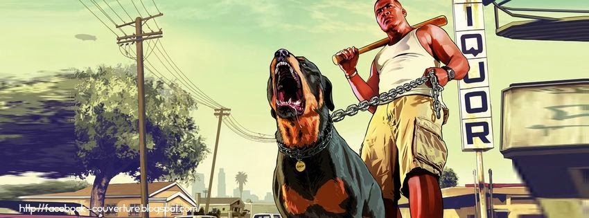 Couverture facebook HD gta 5