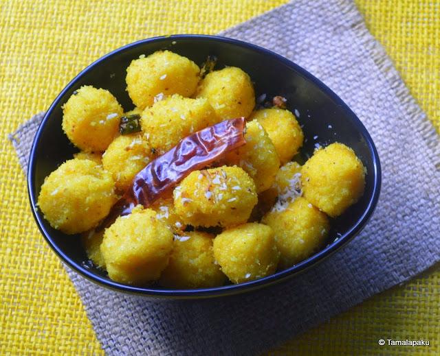 Cornmeal Kozhukattai